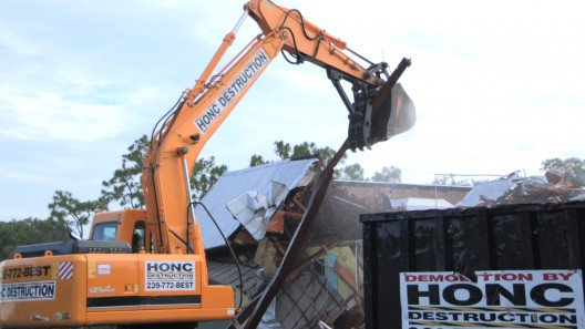 Future Home of Engle Dentistry: Demolition